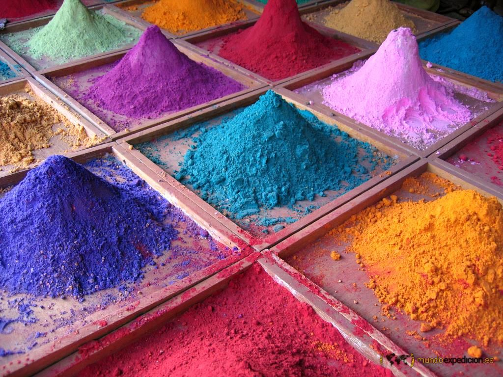 cosmética exótica india
