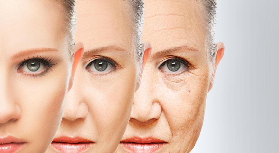 rejuvenecimiento - envejecimiento