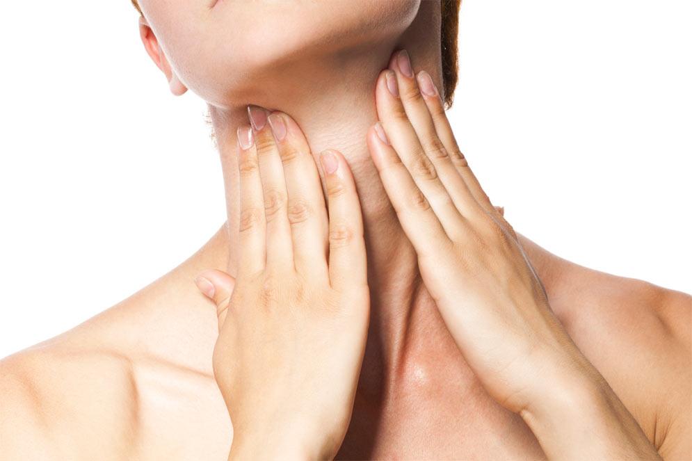 cuello y zona del escote