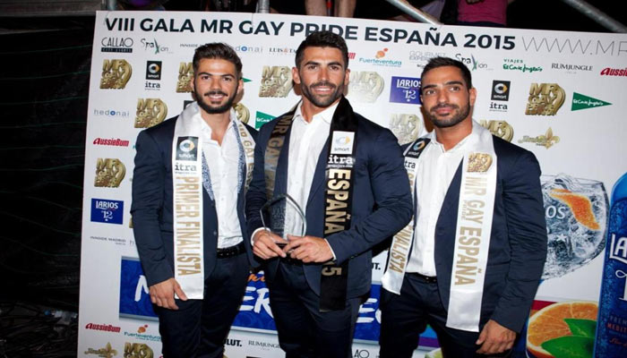 Mr Gay Pride España 2015 visita Gesvital