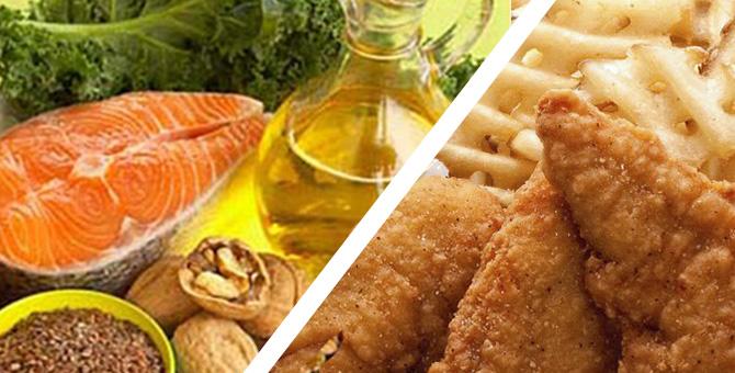 ¿Sabes cuales son las grasas buenas para nuestro organismo y cuales las malas?