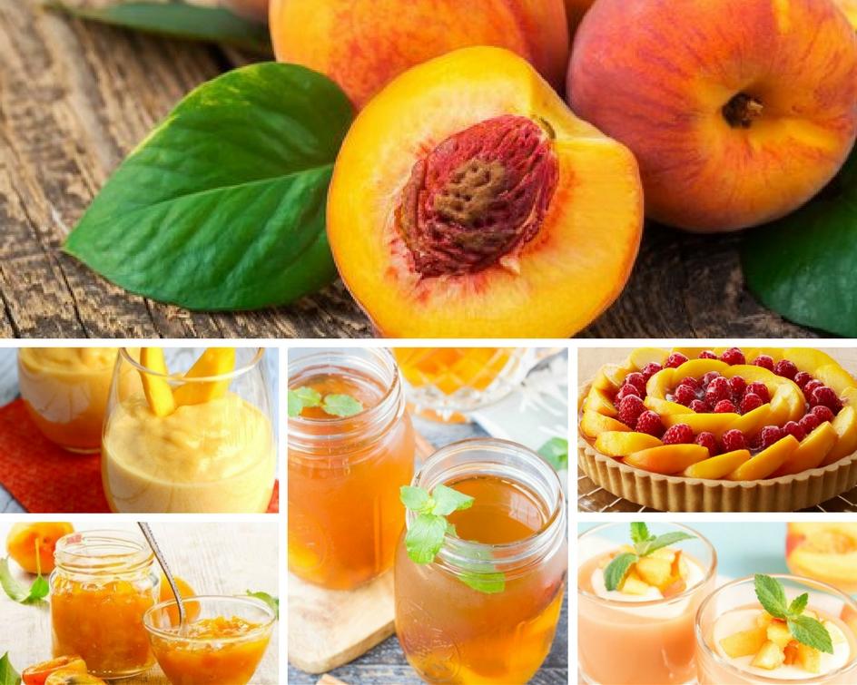 El melocoton un gran antioxidante