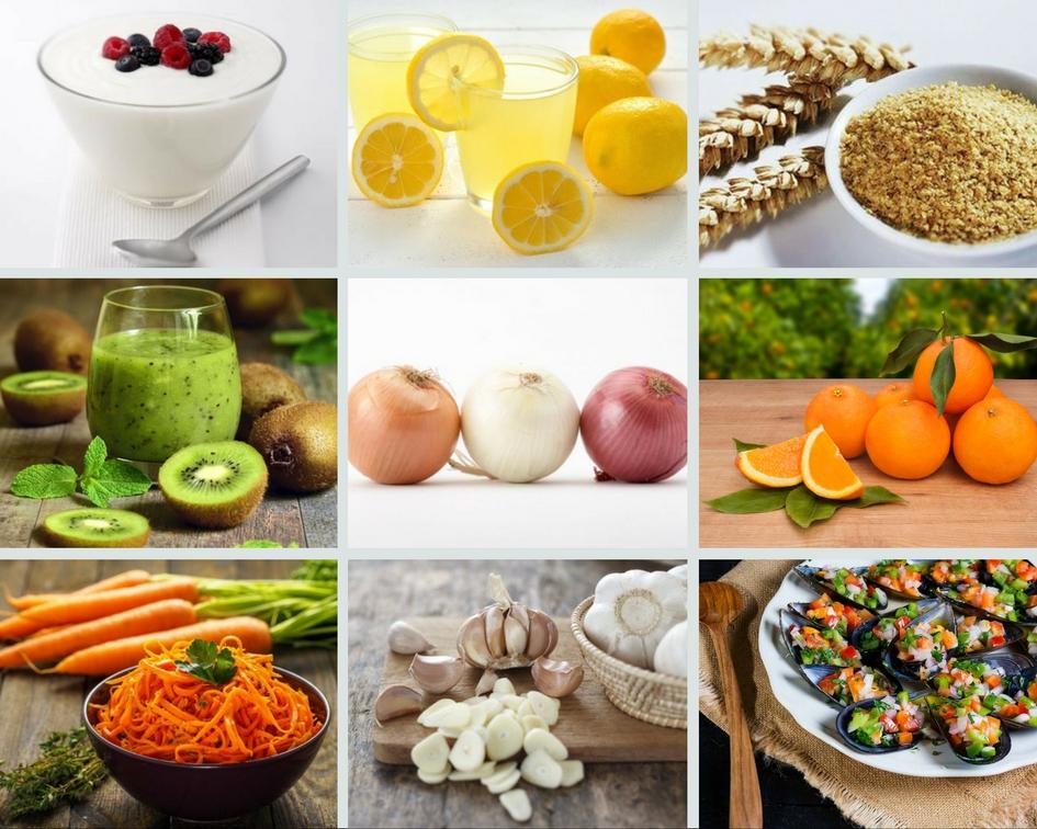 Alimentos que ayudan a aumentar tus defensas