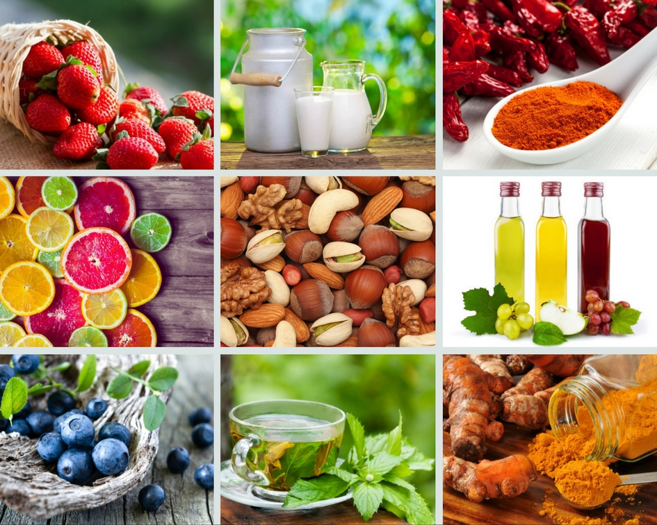 17 Alimentos saludables y libres de grasas