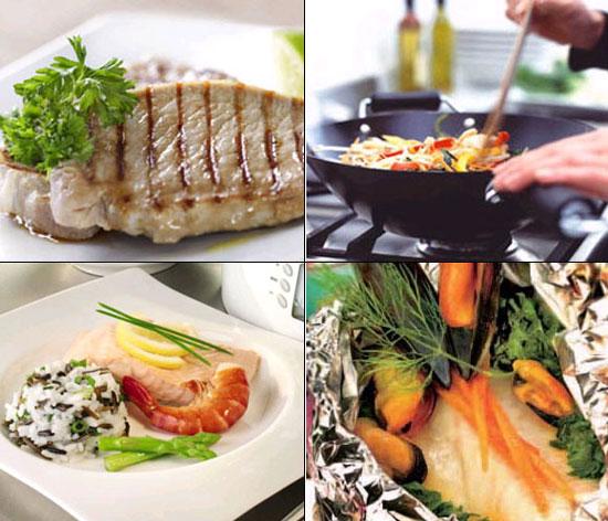 Las distintas técnicas culinarias