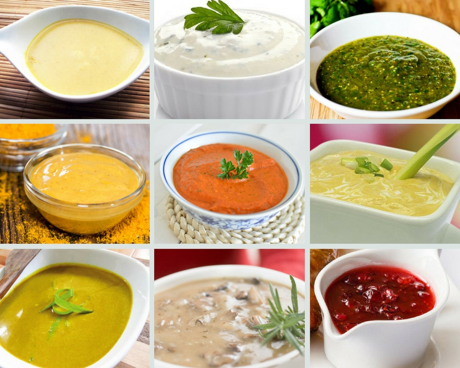 Las 7 salsas que menos engordan