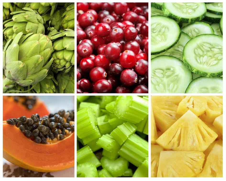 6 alimentos que te ayudan a eliminar la retención de líquidos