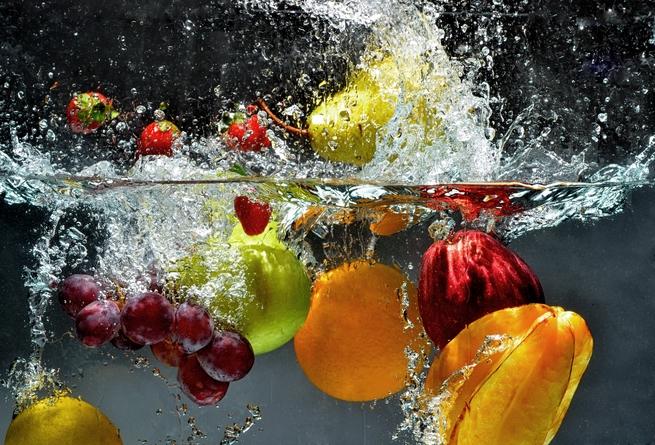 Cómo lavar las frutas y las verduras